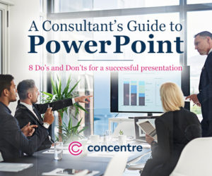 A Consultant's Guide to PowerPoint: 8 Steps to a Successful Presentation