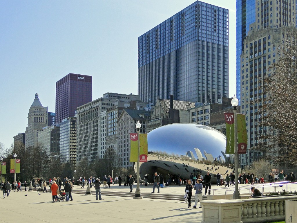 chicago-bean-397175_1920
