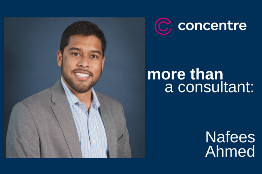 More Than A Consultant: Nafees Ahmed
