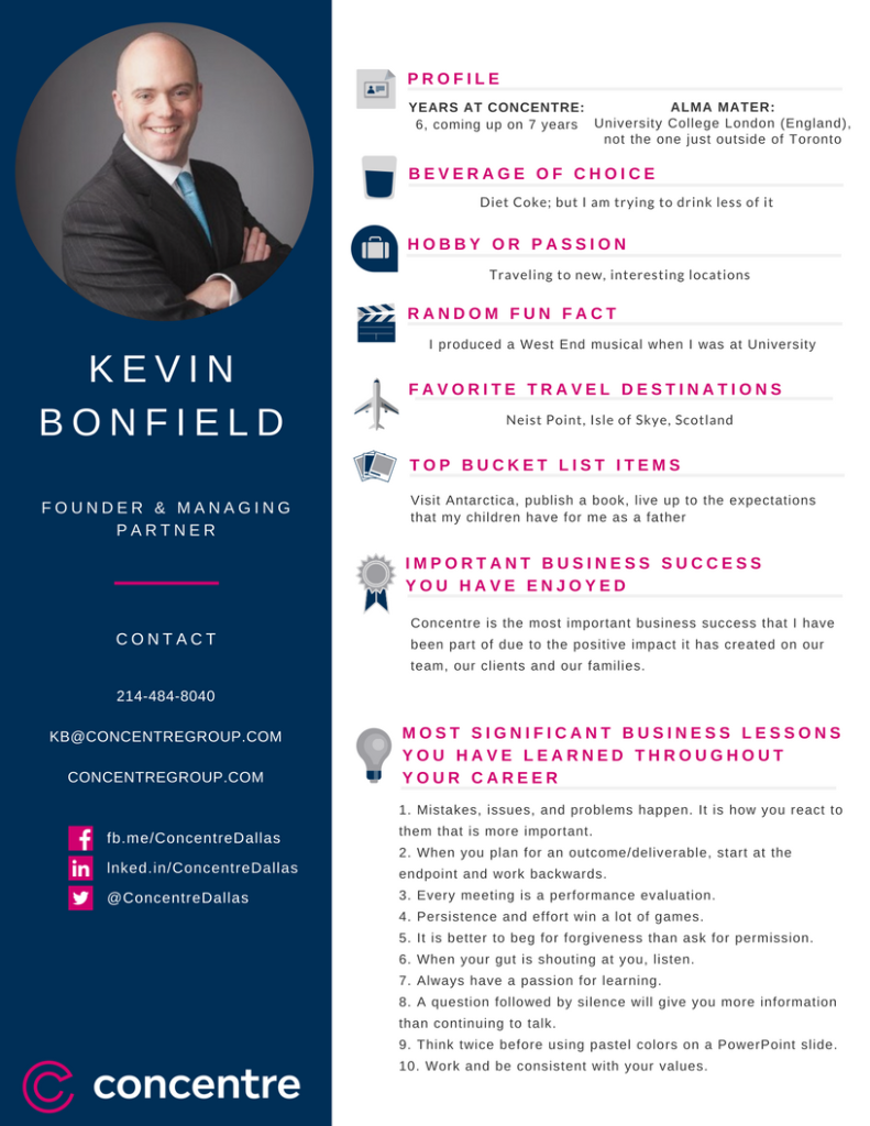 Concentre Staff Profile - Bonfield