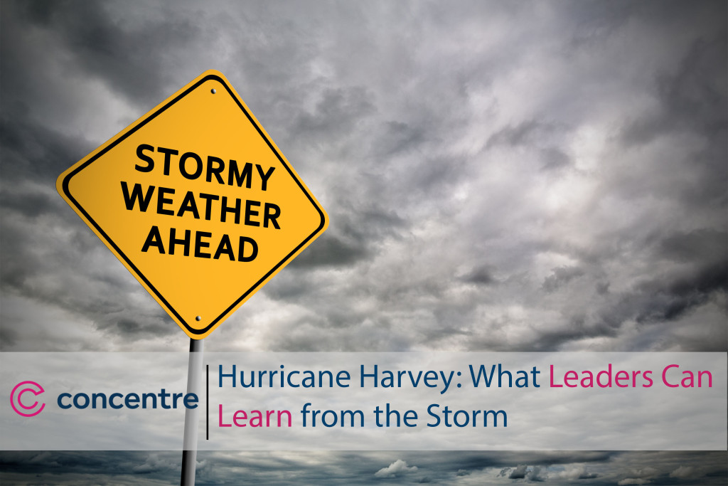 Hurricane Harvey What Leaders Can Learn from the Storm