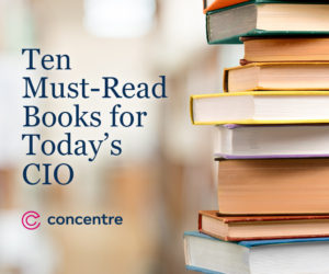 Ten Must-Read Books for Today's CIO [Infographic]