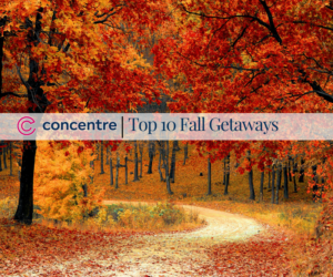 Top 10 Fall Getaways